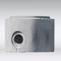 Ronde betonputten