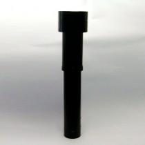 Ventilatiepijp  ew  166 mm  hellend-plat