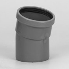 Bochten 15˚ mof/spie sn4 rubber