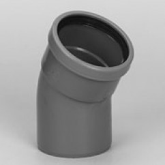 Bochten 30˚ mof/spie sn4 rubber