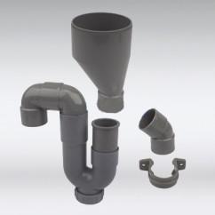PVC condensafvoerset