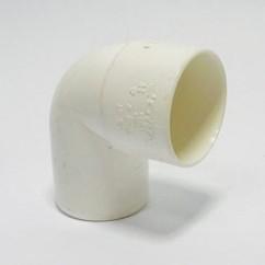 Pvc bochten 90° MXS wit