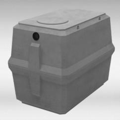 Rechthoekige betonnen infiltratieputten