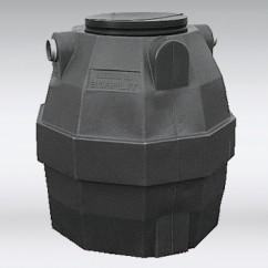 Kunstof septictank 1500 liter
