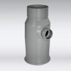 Nylonplast straatkolk met filter compleet exl kop