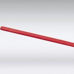 PVC verlengbuis rood