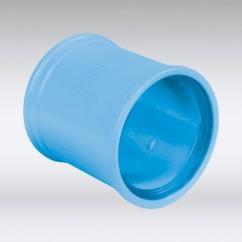 PVC mof blauw