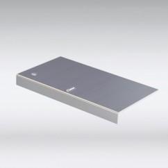 Aluminium koppelstuk daktrim