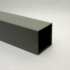 Mtr  hwa  buis  vierkant  80x80  grijs