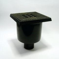 Stalput  20x20  gietijzer-rand