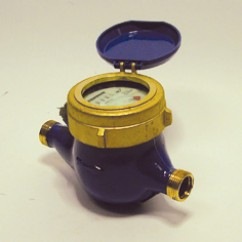 Watermeter met  impuls  2'' aansluiting