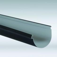 Nicoll mastgoot 115 mm antraciet
