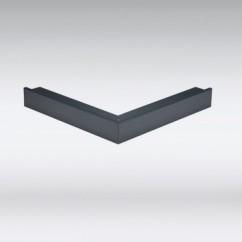 Aluminium buiten- en binnenhoek antraciet