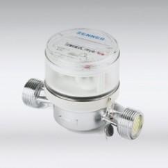 Watermeter aansluiting droogloop