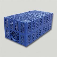 Aquacell infiltratie-unit 200 ltr blauw
