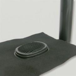 Ubiflex  Rioolontspanningspan  110  mm zwart
