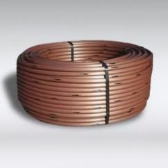 XF SDI ondergrondse druppelslang bronskleurig met koper inleg