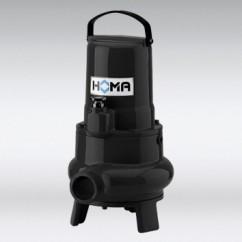 TP30   Dompelpompen voor vuilwater met vaste stoffen