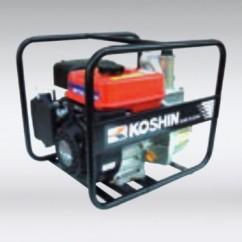 Zelfaanzuigende waterpompen met 4-takt benzinemotor