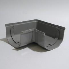 Hoekstuk 65 mm grijs