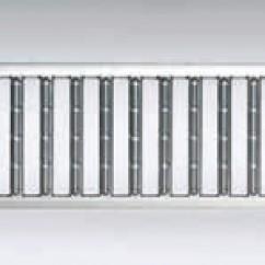 Self Euroline losse sleufrooster verzinkt staal