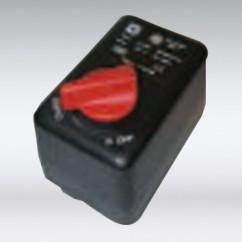 Condor drukschakelaar 230 volt 1/4 aansluiting