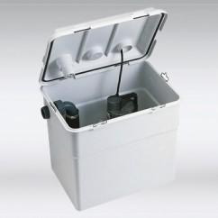 DAB Novabox voor afvalwater 30/300 M SV 230 volt