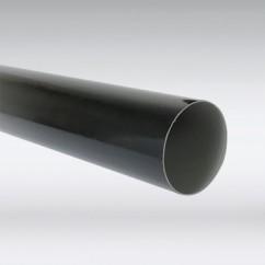 PVC buis antraciet
