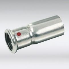 Bonfix press insteekverloop staal verzinkt