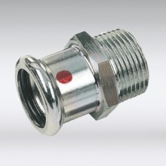 Bonfix press puntstuk staal verzinkt