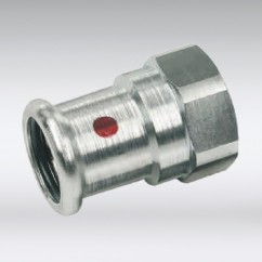 Bonfix press schroefbus staal
