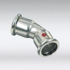 Bonfix press bocht staal verzinkt