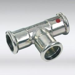 Bonfix press wartelkoppeling staal verzinkt