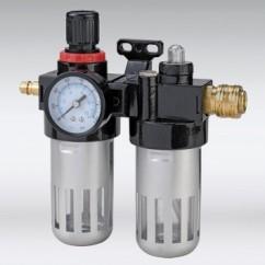 Compressor filterdrukregelaar+oliefilter