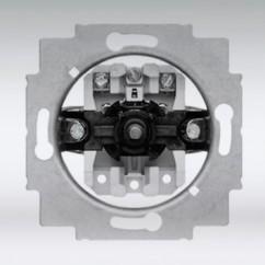 B&J 3-standen ventilatieschakelaar 1-