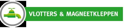 Vlotters en magneetkleppen